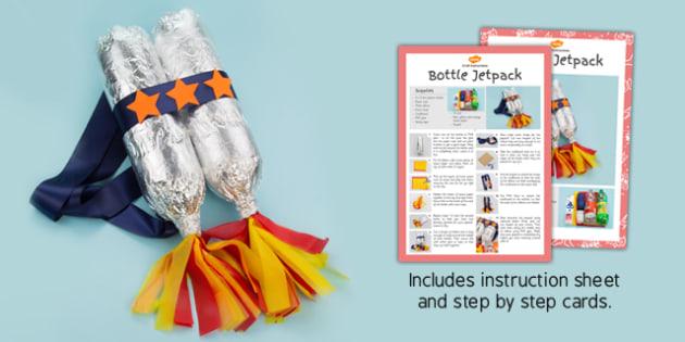 Superhero Jetpack Craft Instructions - superhero, jet pack