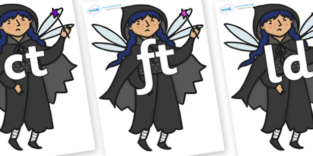 Final Letter Blends on Evil Fairy - Final Letters, final letter, letter blend, letter blends, consonant, consonants, digraph, trigraph, literacy, alphabet, letters, foundation stage literacy