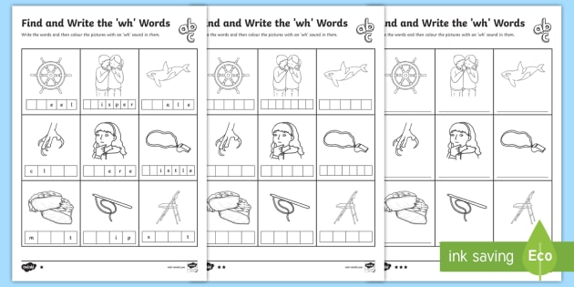 Find and write the wh words differentiated worksheet activity find and write the wh words differentiated worksheet activity sheets phonics activity phase ibookread Read Online