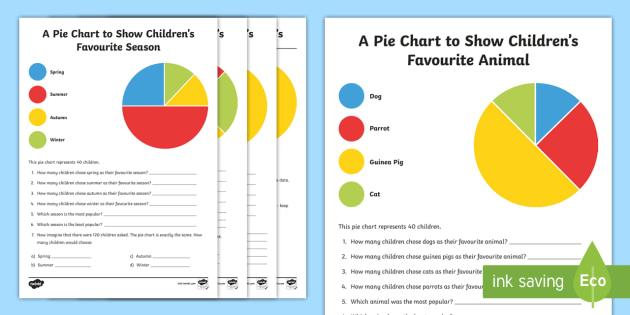 Pie Chart Interpretation Worksheet Activity Sheets Maths
