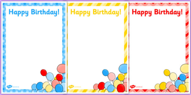 3rd Birthday Party Editable Poster - 3rd birthday party, 3rd birthday, birthday party, editable poster