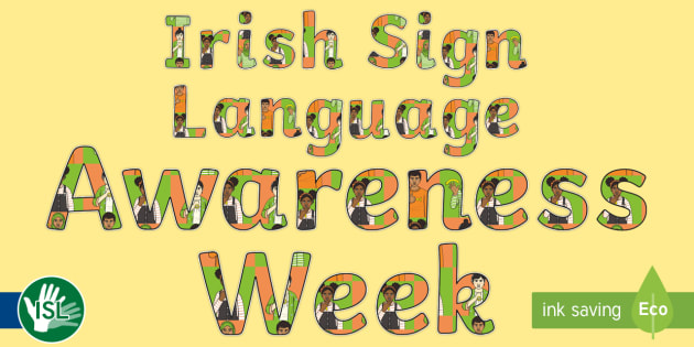 Image result for Irish sign language
