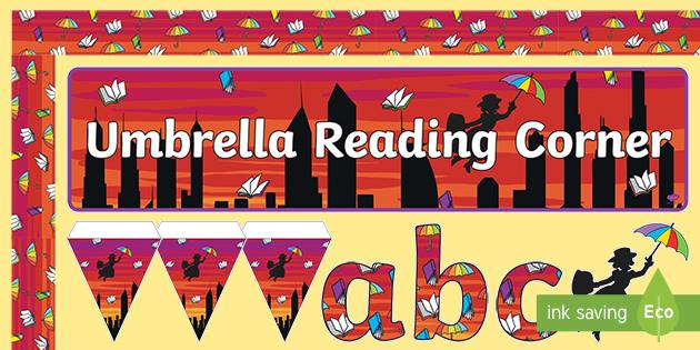 Umbrella Reading Corner Display Pack