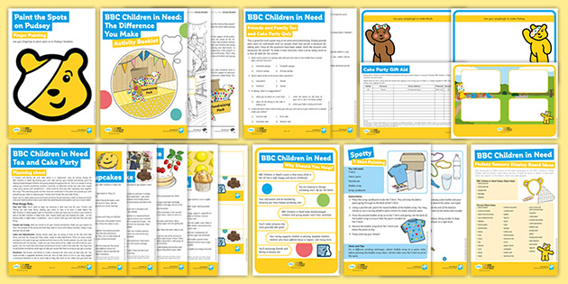 BBC Children in Need Pack for Parents