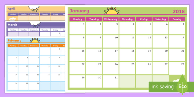 2019 monthly calendar southern hemisphere planning template australia monthly calendar planning template 2018