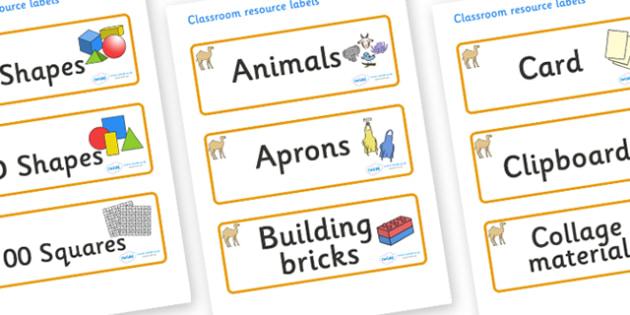 Camel Themed Editable Classroom Resource Labels - Themed Label template, Resource Label, Name Labels, Editable Labels, Drawer Labels, KS1 Labels, Foundation Labels, Foundation Stage Labels, Teaching Labels, Resource Labels, Tray Labels, Printable lab