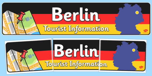 Berlin Tourist Information Role Play Banner - role-play, berlin