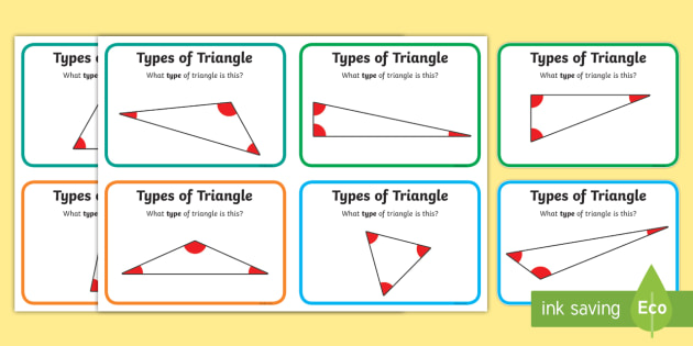 Types of triangle maths challenge cards triangle shapes types of triangle maths challenge cards triangle shapes maths ccuart Gallery