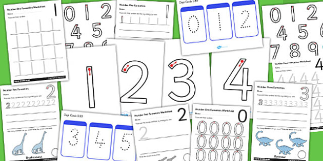 Number Formation Resource Pack - number, formation, resource, overwriting