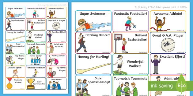Active Week Stickers - PE, Active Week, rewards, sport, stickers, active, sports,