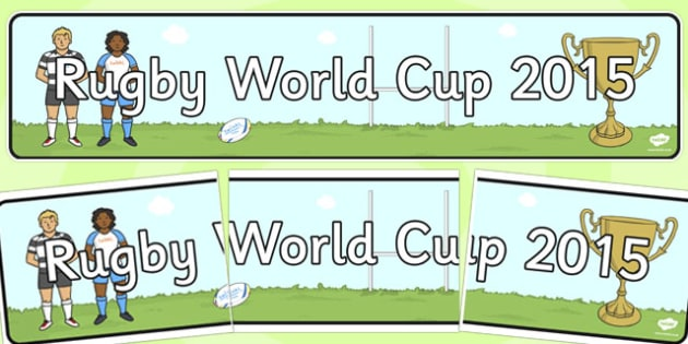Rugby World Cup 2015 Display Banner - rugby, world cup, display