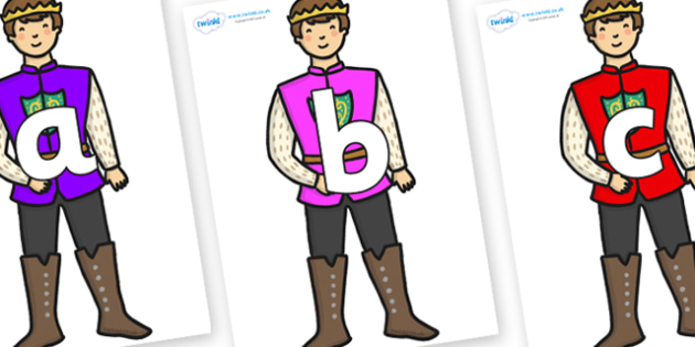 Phoneme Set on Sleeping Beauty Prince - Phoneme set, phonemes, phoneme, Letters and Sounds, DfES, display, Phase 1, Phase 2, Phase 3, Phase 5, Foundation, Literacy