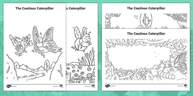 49 Phenomenal Very Hungry Caterpillar Coloring Sheets – haramiran   315x630