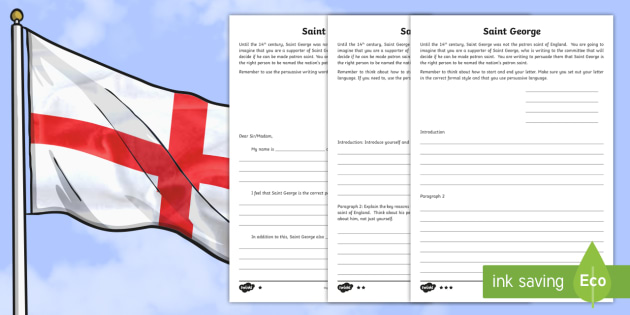 Ks2 st georges day persuasive letter differentiated worksheet ks2 st georges day persuasive letter differentiated worksheet activity sheets ks2 st spiritdancerdesigns Image collections