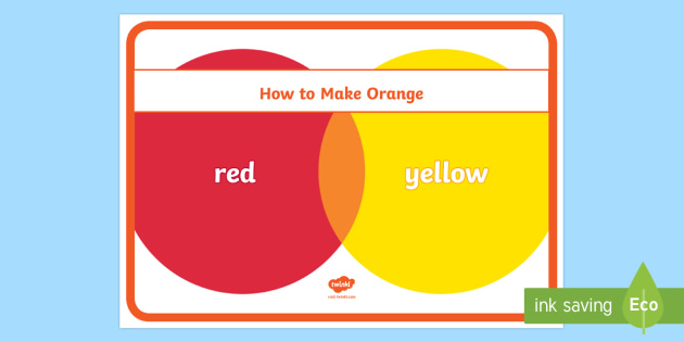 How To Make Orange How To Make Orange Paint Colour Mixing Art