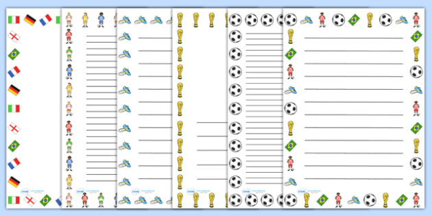 Football Page Border Images Football Ball Play Sport Images Page