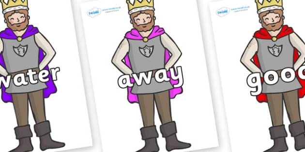 Next 200 Common Words on Kings - Next 200 Common Words on  - DfES Letters and Sounds, Letters and Sounds, Letters and sounds words, Common words, 200 common words