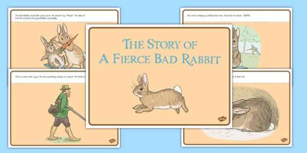 Beatrix Potter - The Story of a Fierce Bad Rabbit Story - beatrix potter, fierce, bad, rabbit