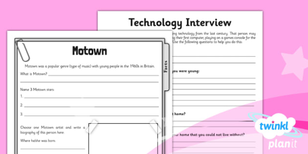 History: Leisure and Entertainment UKS2 Unit Home Learning Tasks