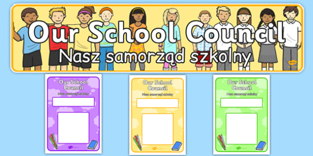 School Council Notice Board Pack Polish Translation - polish, school council, notice board, pack