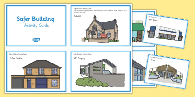 Safer Building Activity Cards - safer building, activity cards, safe, building, activity, cards