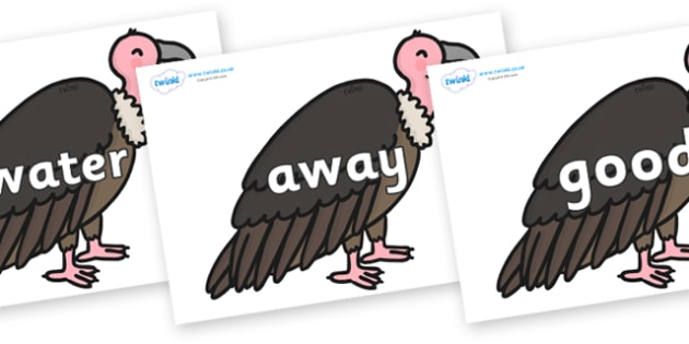Next 200 Common Words on Vultures - Next 200 Common Words on  - DfES Letters and Sounds, Letters and Sounds, Letters and sounds words, Common words, 200 common words