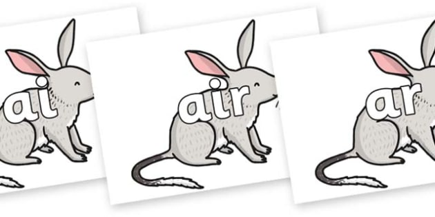 Phase 3 Phonemes on Bilby - Phonemes, phoneme, Phase 3, Phase three, Foundation, Literacy, Letters and Sounds, DfES, display
