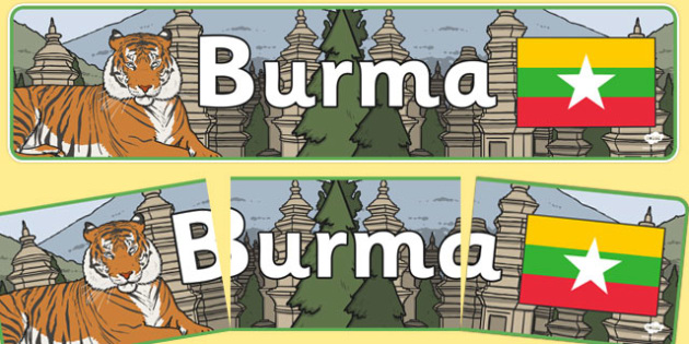 Burma Display Banner - Burma, Olympics, Olympic Games, sports, Olympic, London, 2012, display, banner, sign, poster, activity, Olympic torch, flag, countries, medal, Olympic Rings, mascots, flame, compete, events, tennis, athlete, swimming