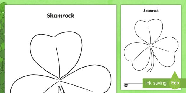 Patricks Day Shamrock Template  St Patricks Day St Patrick