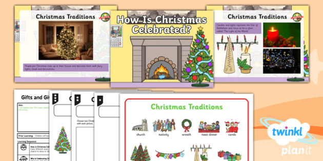 RE: Gifts and Giving: How is Christmas Celebrated? Year 1 Lesson Pack 2