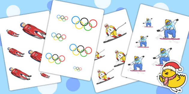 Winter Olympics Size Ordering - olympic, winter, order, sport
