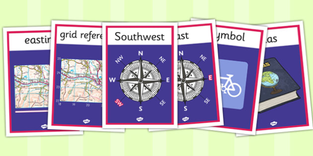 Marvellous Maps Display Posters - marvellous maps, display posters
