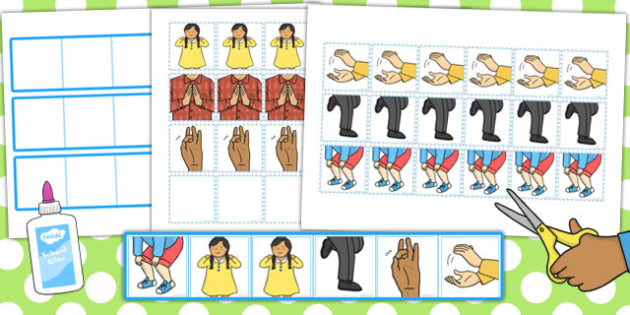 Composing Body Percussion Patterns Resource Pack - percussion