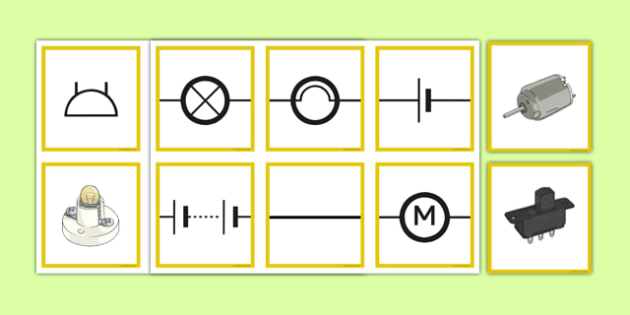 Matching Informal and Scientific Circuit Symbols - circuit