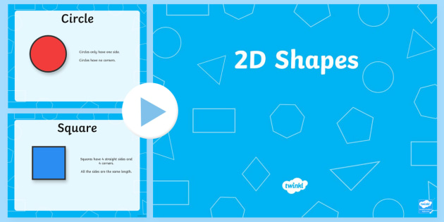 2d shape properties powerpoint 2d shapes two dimentional