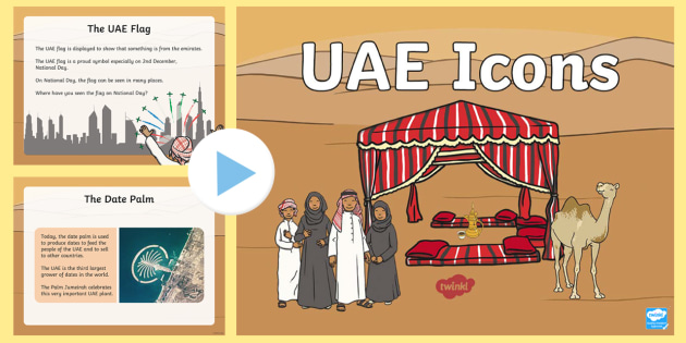 Uae Icons Powerpoint Teacher Made