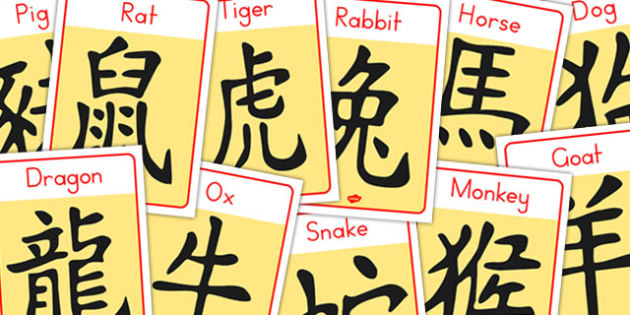 Chinese New Year Zodiac Sign Display Posters - australia, posters