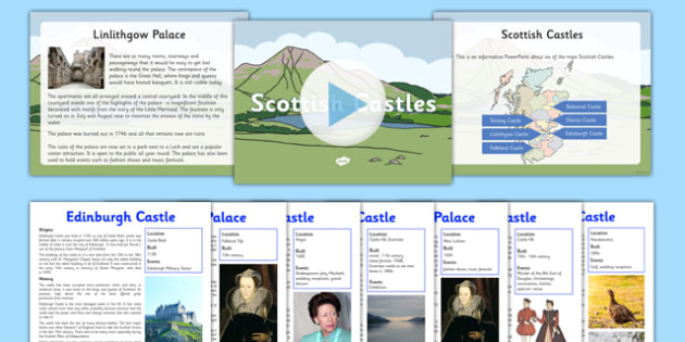 Scottish Castles Resource Pack - First Level, Social Studies, Scottish history, Scottish Castles