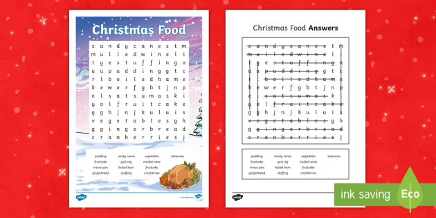 picture relating to Holiday Word Search Printable titled KS2 Xmas Meals Term Glance - xmas term look
