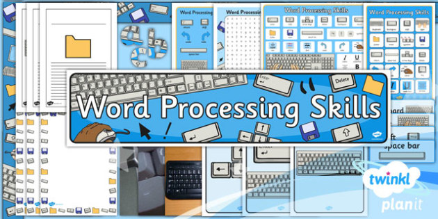 Computing: Microsoft Word Processing Skills Year 1 Unit Additional Resources