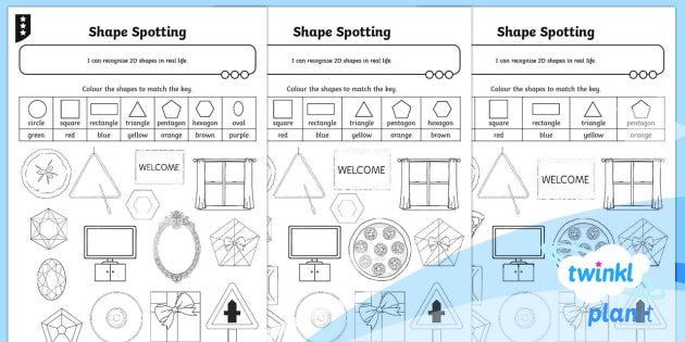 new planit maths y1 properties of shape 2d shape home learning tasks homework - Shape Pictures To Colour