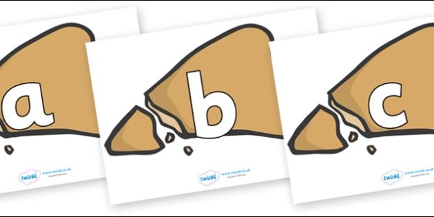 Phoneme Set on Egyptian Flatbread - Phoneme set, phonemes, phoneme, Letters and Sounds, DfES, display, Phase 1, Phase 2, Phase 3, Phase 5, Foundation, Literacy