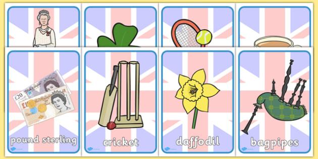 Being British Display Posters - british, display, posters, tea