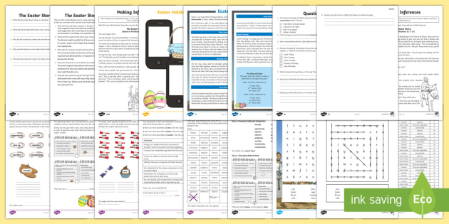 UKS2 English Easter Home Learning Activity Pack