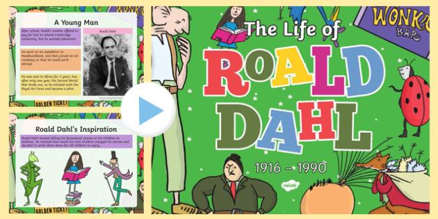 Roald Dahl PowerPoint