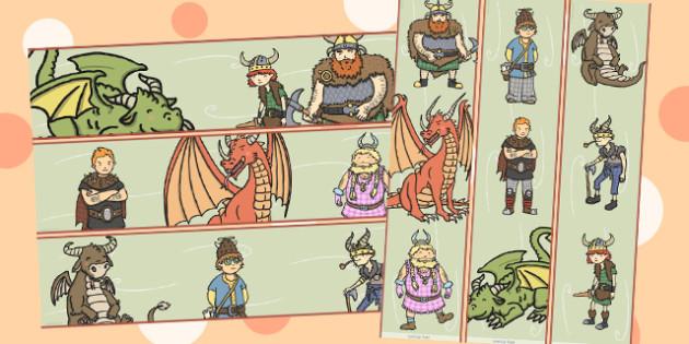 How to Train Your Dragon Display Borders - displays, border