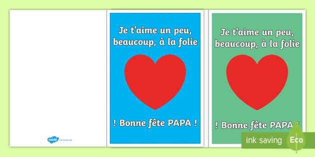 Carte Bonne Fete Papa La Fete Des Peres