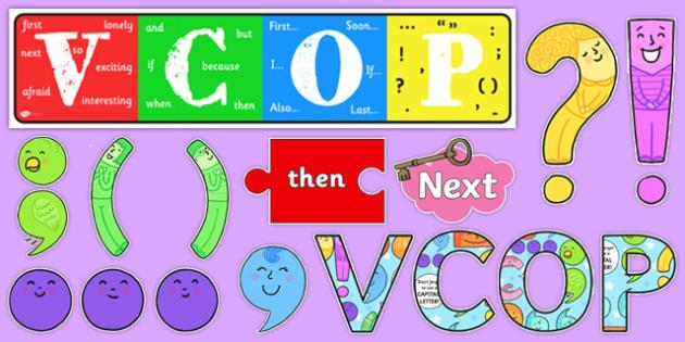 VCOP Display Pack - VCOP, Display, Pack, Sack, Grammar