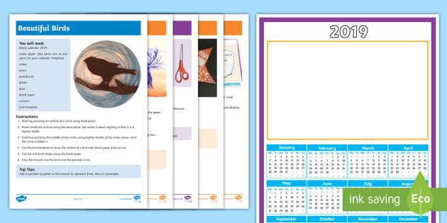 Calendar Ideas Ks : Calendar ideas ks activity pack