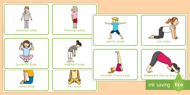 Yoga Movement Cards